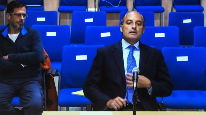 Francisco Camps nega haver-se reunit a la Zarzuela amb Urdangarin