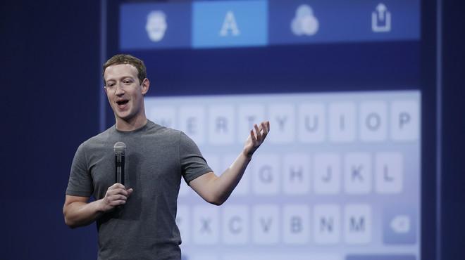 El fundador de Facebook, Mark Zuckerberg, durante una conferencia en San Francisco.