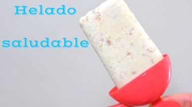 Receta de helados saludables