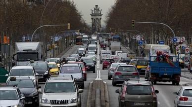 El desafiament del veto als cotxes a Barcelona