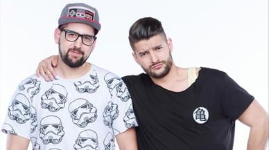 Los primos Mat�as y Nabil, ganadores de 'Pek�n Express'.
