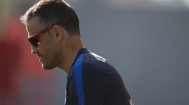"Luis Enrique qualifica de ""plaer"" jugar a San Mamés"