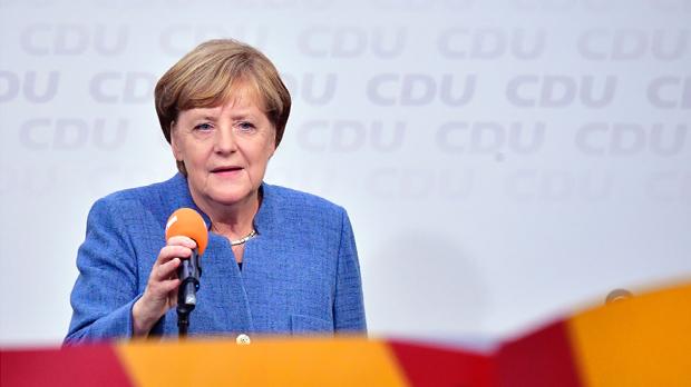 La ultradreta li amarga la victòria a Merkel