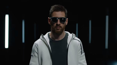 Messi presta su imagen a una nueva línea de gafas de sol