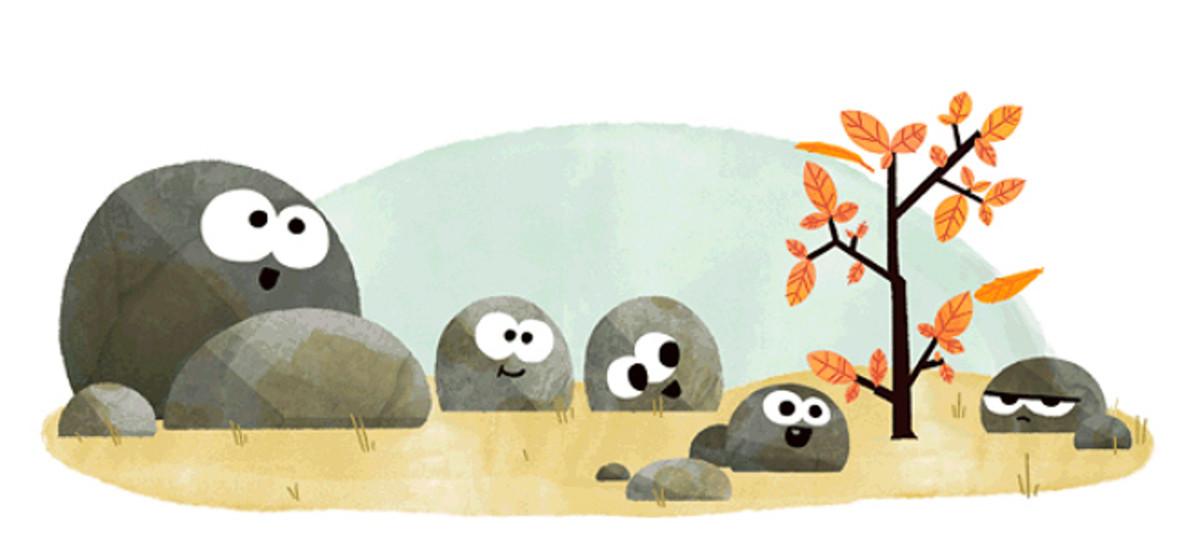 Equinocci de tardor: el nou 'doodle' de Google