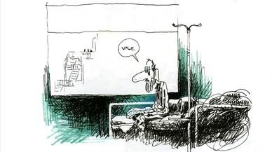 Página del cómic 'De tripas y corazón', de Pozla.