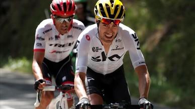 Mikel Landa es llança pel Tour de França