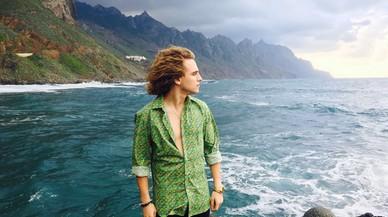 Manel Navarro roda a Tenerife el videoclip d'Eurovisió