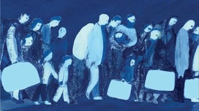 Viñeta de 'Refugiada', de Tessa JuliàDinarès y Anna Gordillo.