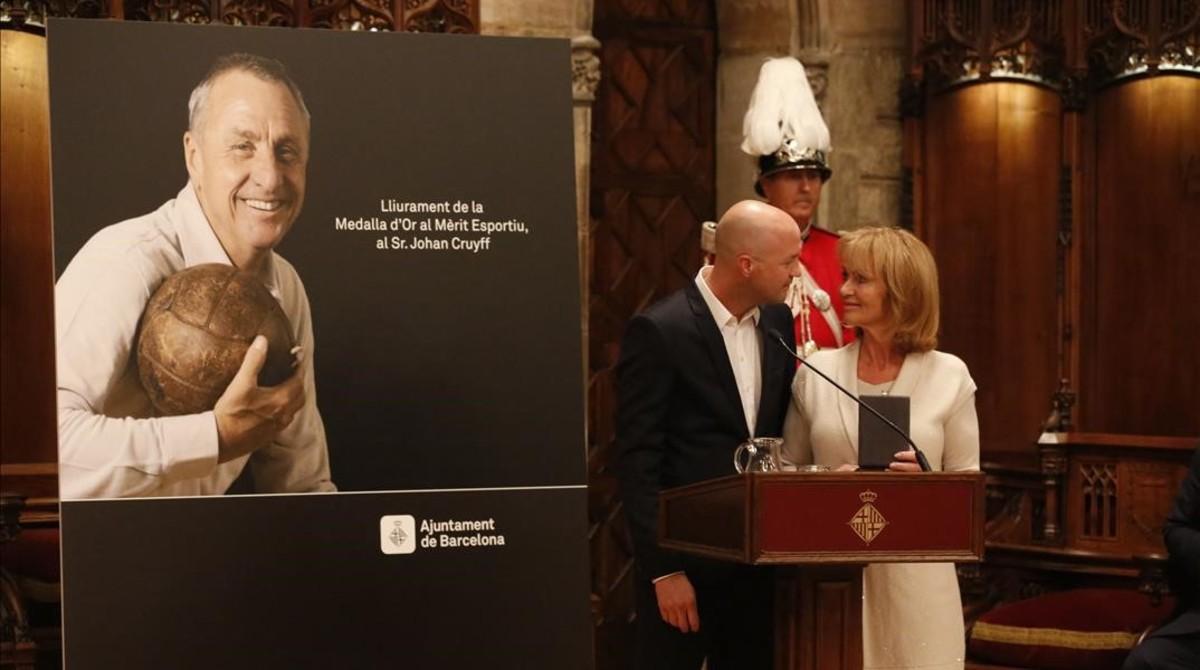 La viuda de Johan Cruyff posa en venda la mansió de Barcelona