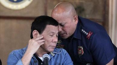 Duterte suspèn la seva guerra contra la droga després de l'assassinat d'un empresari coreà