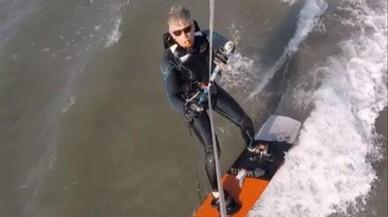 Felip de Bèlgica comparteix un vídeo practicant 'kitesurf'