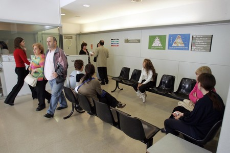 Sala de espera del servicio de urgencias del hospital Parc Taul de Sabadell.
