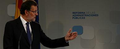Rajoy avanza las l�neas maestras de la reforma.