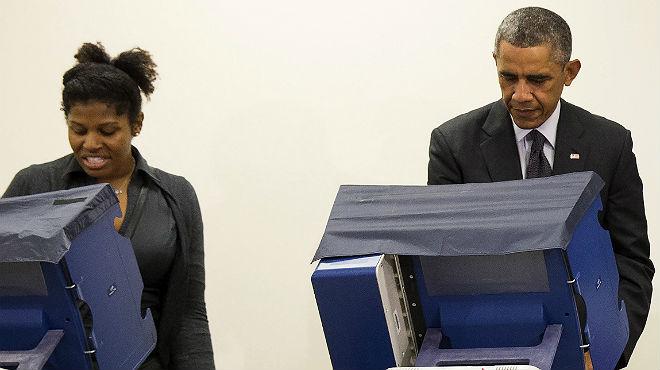 """Un hombre a Obama: """"Presidente, no toque a mi novia"""""""