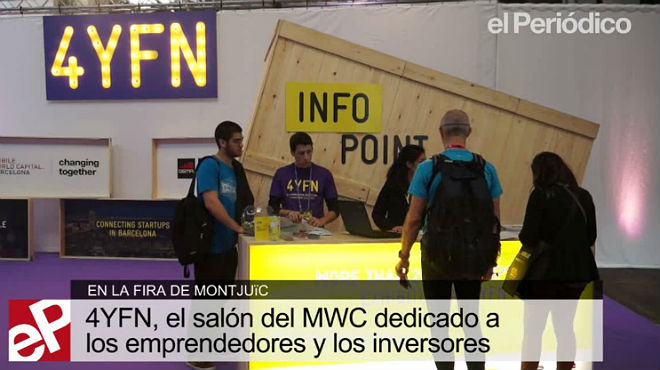 Congreso 4YFN para emprendedores en el marco del MWC