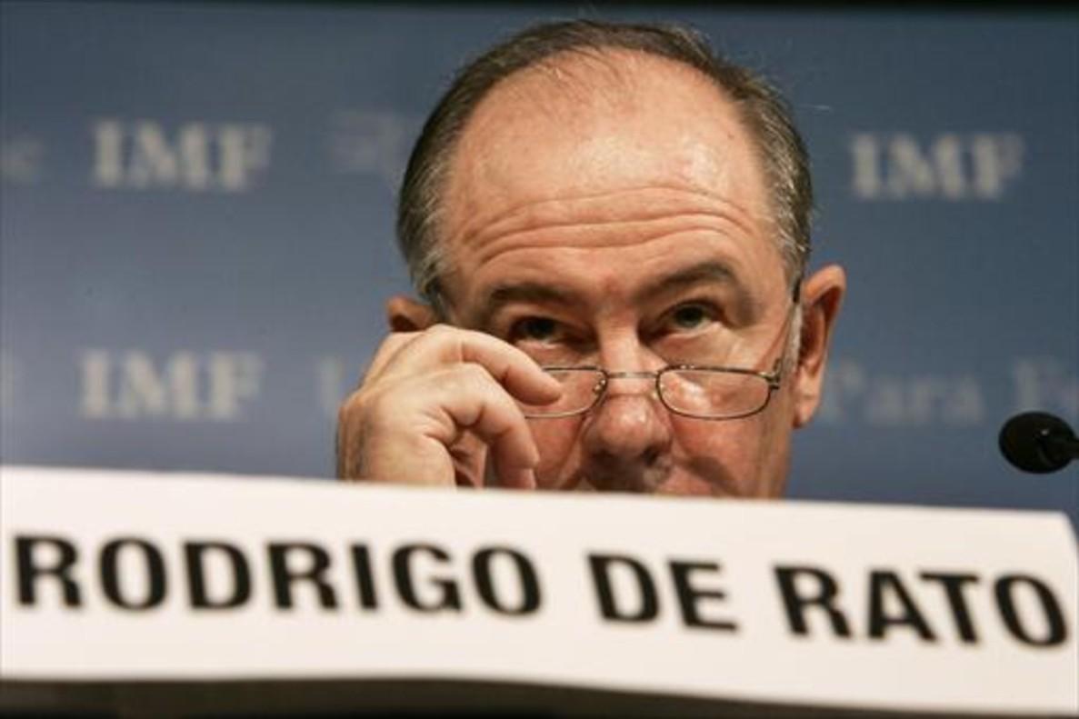 Rodrigo Rato, en el 2007, cuando aún era director del Fondo Monetario Internacional (FMI).
