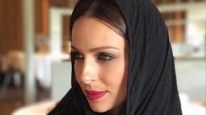 Una foto de Eva Gonzlaez con hiyab desata la polémica