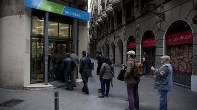 L'atur a Catalunya puja en 4.573 persones al novembre, fins a 462.979
