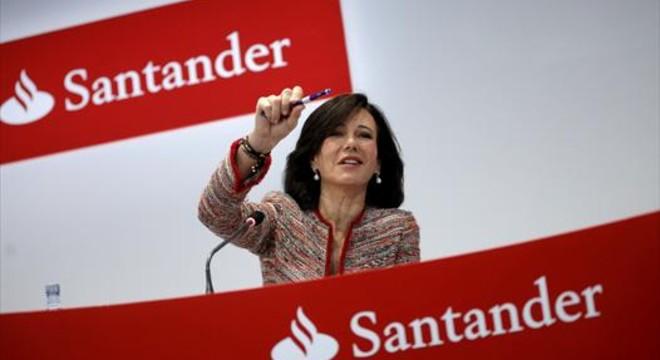 Ana Bot�n, presidenta del Santander.