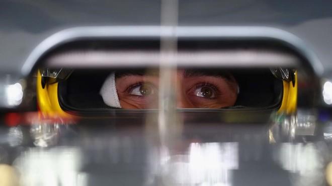 Fernando Alonso, en su McLaren-Honda, en México.