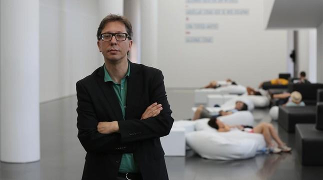 Ferran Barenblit ferranbarenblitnuevodirectordelmacbaesteviernesmuseo1437752037045jpg