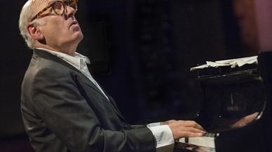 Michael Nyman, en el Palau de la Música.