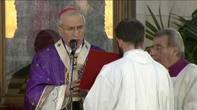Homilías de Rouco Varela en el funeral de Adolfo Suárez en la Catedral de la Almudena.