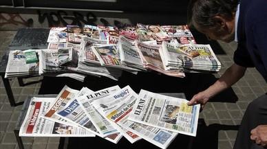 La mujer solo está presente en el 22,4% de las noticias de portada de cinco diarios