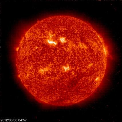 La mayor tormenta solar registrada causar�a ahora 23.000 millones de euros de p�rdidas