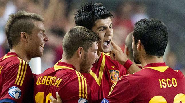 Morata mete a 'la Rojita' en semifinales del Europeo (0-1)