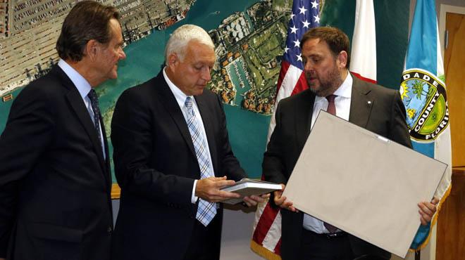 Los puertos de Barcelona y Miami renuevan su colaboración