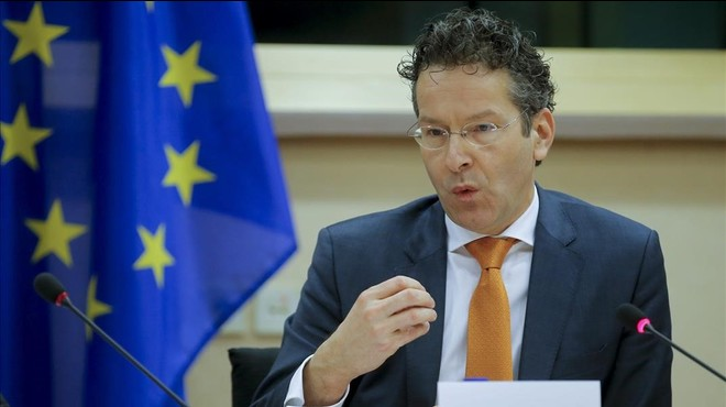 El president de l'Eurogrup defensa la salut de la banca