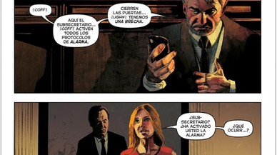'El Ministerio del Tiempo' salta al cómic