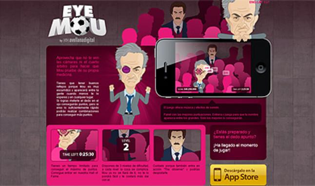 Una empresa de Reus crea un juego para meter el dedo en el ojo a Mourinho