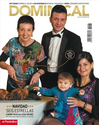 Carme Ruscalleda ofrece tres recetas navide�as en 'Dominical'