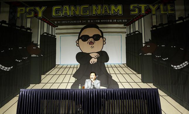 Gangnam Style, rey de Youtube en el 2012
