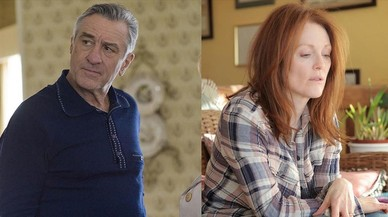 Los actores Robert de Niro y Julianne Moore.