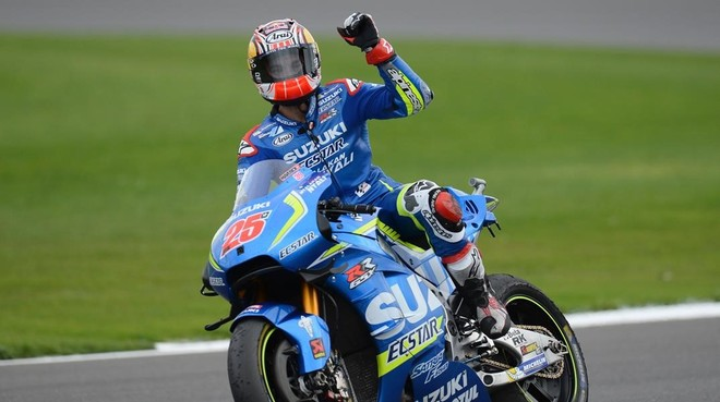 Maverick Vi�ales, vencedor en MotoGP en Silverstone.