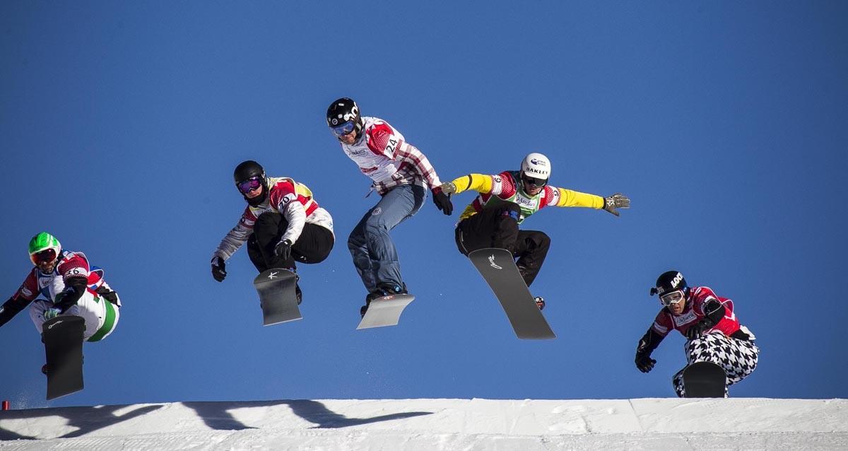 'Snowboardcross' d'alta intensitat a Baqueira-Beret