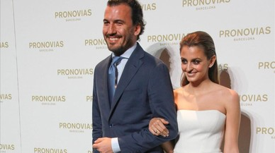 El sí de la pubilla de Pronovias