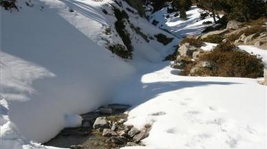 Rescatada una família encallada per la neu tota la nit en una pista de Setcases