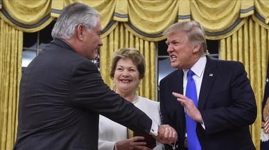 Trump imposa el seu estil abrasiu en la política exterior
