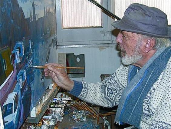 Exposición homenaje al pintor Josep Verdaguer