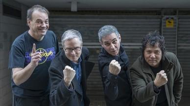 The Rubinoos. Jon Rubin es el segundo por la derecha.