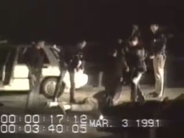 Paliza a Rodney King en 1991.