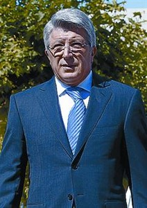 Cerezo, presidente del Atltico.