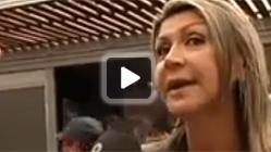La delegada María de los Llanos de Luna, en el Open Banc Sabadell. 8TV