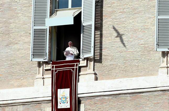 El papa Francisco, el domingo 10 de enero del 2016.