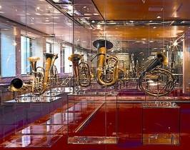 Exposición permanente 8Una de las salas del Museu de la Música.